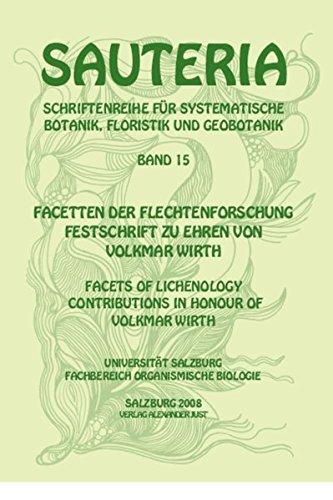 Sauteria 15: Facetten der Flechtenforschung - facets: Roman Türk (Autor),