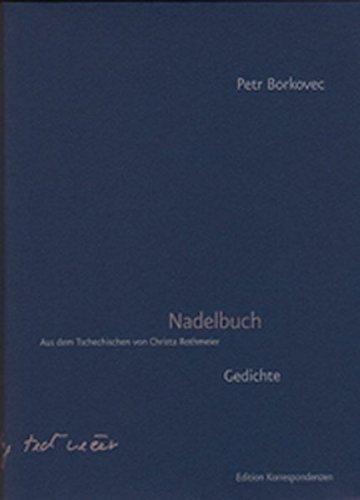 9783902113245: Nadelbuch: Gedichte. Tschechisch / Deutsch