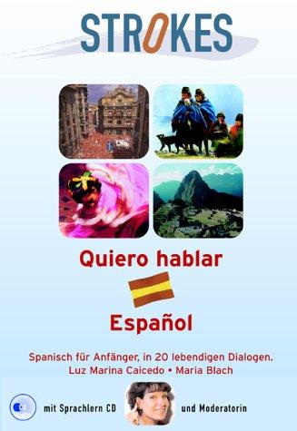 9783902247001: Quiero hablar Espanol, m. Audio-CD
