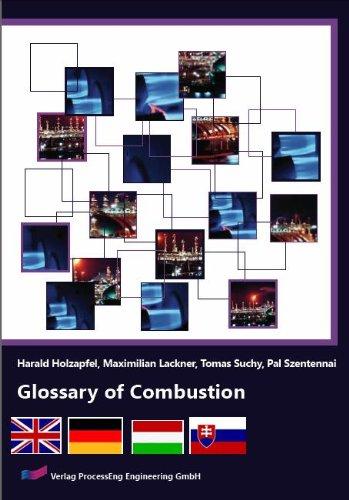 9783902655011: Glossary of Combustion (English, German, Hungarian, Slovak Edition)