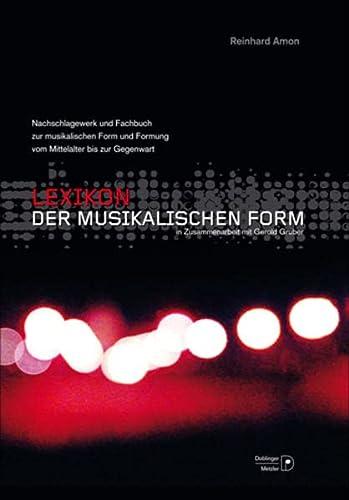 Lexikon der musikalischen Form: Reinhard Amon