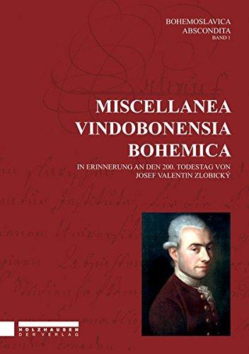 Miscellanea Vindobonesia Bohemica: Stefan Newerkla