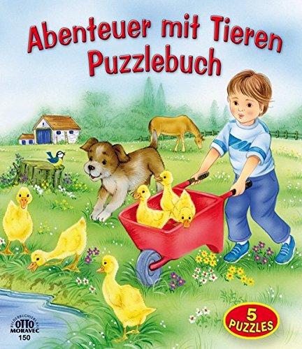 9783902914248: Abenteuer mit Tieren - Puzzlebuch