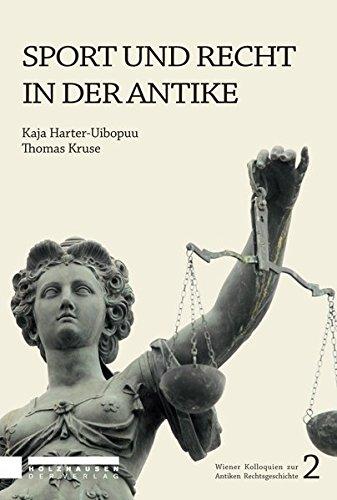 Sport und Recht in der Antike: Thomas Kruse