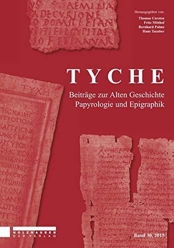 Tyche Jahresband 30: Thomas Corsten