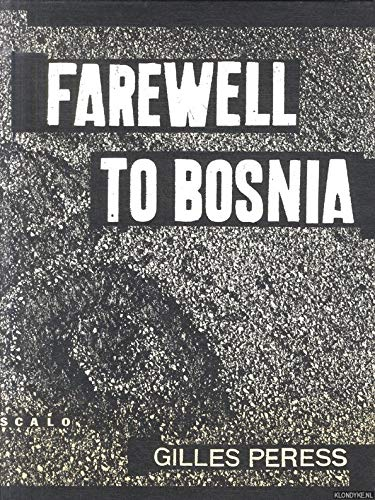 Farewell to Bosnia: Distributed Art Publishers