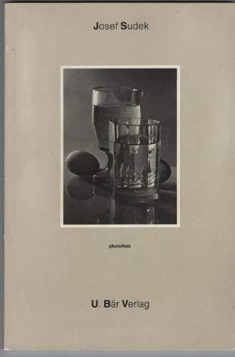 9783905137019: Josef Sudek (Photothek, no. 1) (German Edition)