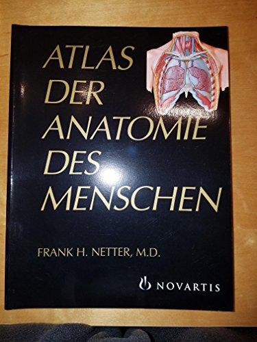 9783905298055: Atlas der Anatomie des Menschen