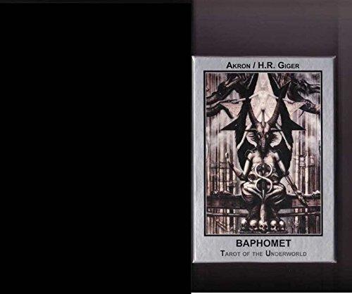 9783905372298: Baphomet Karten: 23 Karten mit engl. Booklet mit Gemälden von Giger