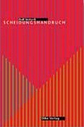 9783905455335: Scheidungshandbuch by Vetterli, Rolf