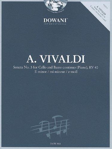 Vivaldi: Sonata No. 5 for Cello and: Editor-Josef Hofer; Composer-Antonio