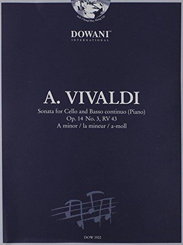 9783905476613: Vivaldi: Sonata for Cello and Basso Continuo in A Minor, Op. 14, No. 3, RV 43