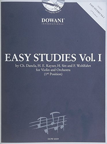 9783905476811: Easy Studies Vol. 1 (1st Position) Violon+CD
