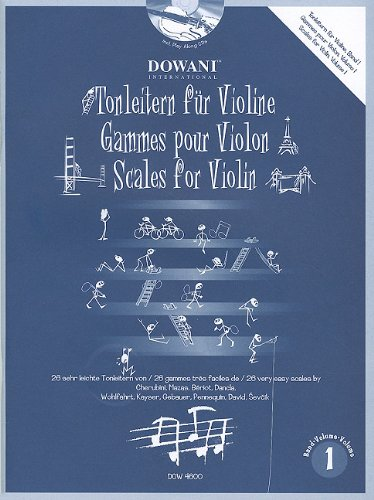 9783905477108: Scales for Violin: 1
