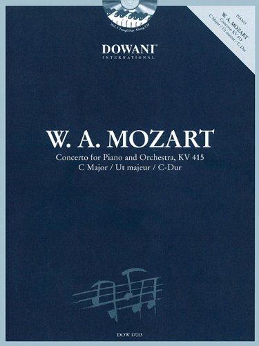 9783905477771: Concerto in C-Dur, KV 415