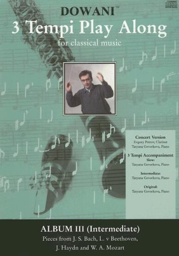3 Tempi Playalong CD : Album 3(interm.) mit Konzertversion und