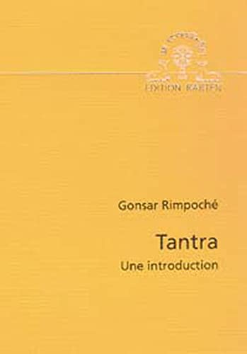 9783905497311: Tantra : Une introduction