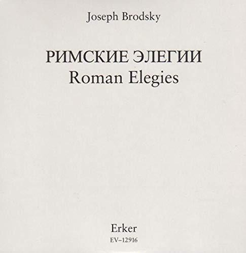 9783905546347: Römische Elegien (Livre en allemand)