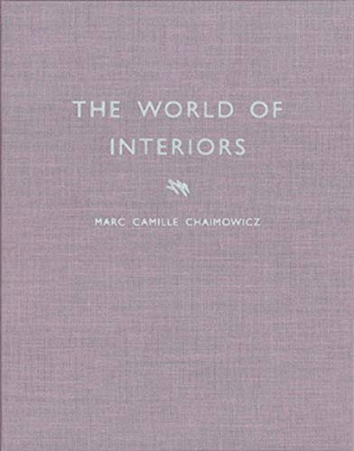 Marc Camille Chaimowicz: The World of Interiors: JRP Ringier