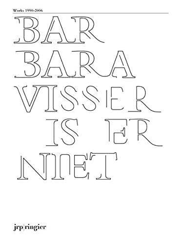 9783905770254: Barbara Visser