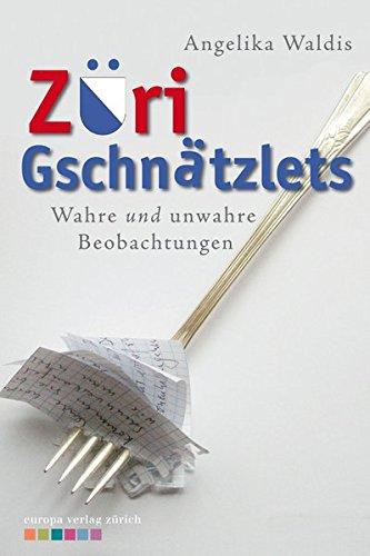 9783905811278: Züri Gschnätzlets