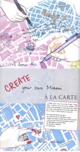 9783905912210: Create Your Own Miami a La Carte: Beautiful City Map to Decorate Yourself (Create Your Own City a La Carte)