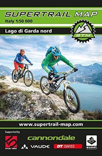 9783905916508: Supertrail Map Lago di Garda nord