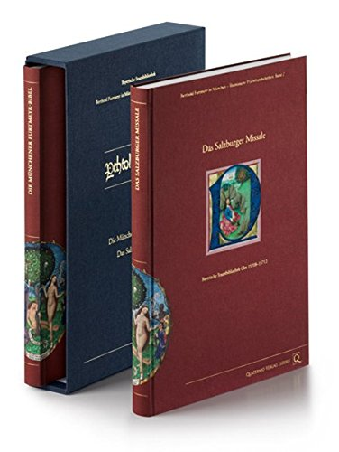 9783905924039: Berthold Furtmeyr in München - Illuminierte Prachthandschriften: Die Münchner Furtmeyr-Bibel und das Salzburger Missale