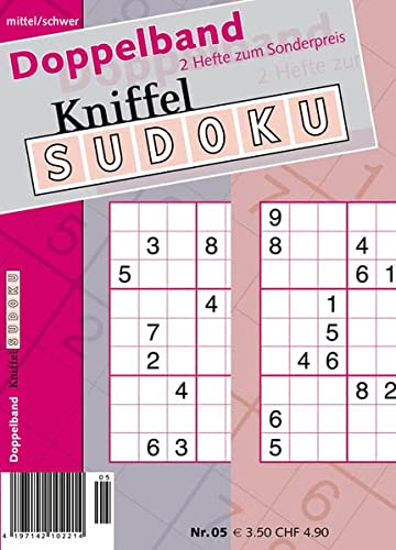 9783906009452: Doppelband Kniffel-Sudoku 5