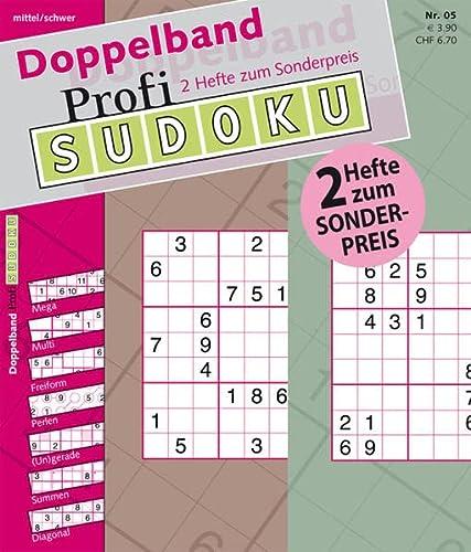 9783906009551: Profi-Sudoku Doppelband 05