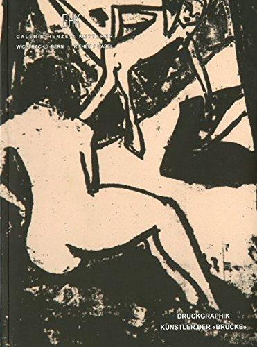 """Druckgraphik Kunstler Der """"Brucke"""": Katalog 83, GHK,: Wolfgang Henze (essay"""