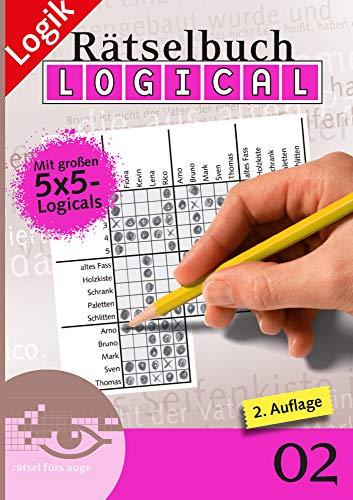 9783906238319: Logical Rätselbuch 02: Rätsel fürs Auge