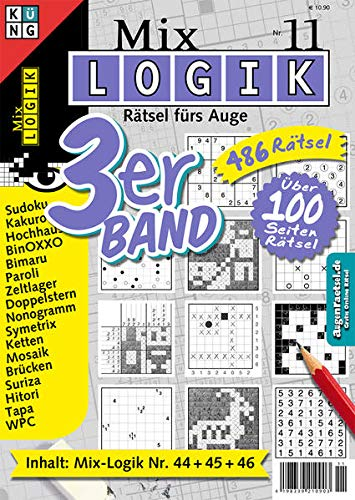 9783906238456: Mix Logik 3er-Band Nr. 11