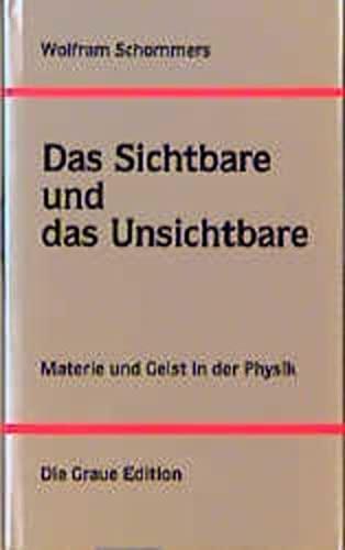 Das Sichtbare und das Unsichtbare. Materie und Geist in der Physik: Schommers, Wolfram