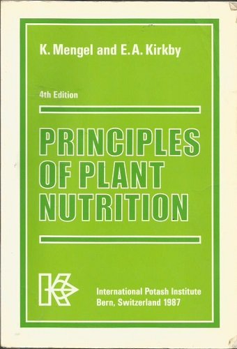 9783906535036: Principles of plant nutrition