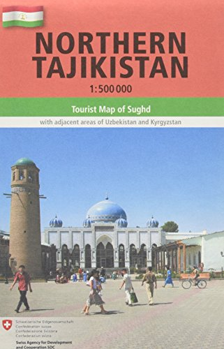 9783906593456: Northern Tajikistan 1 : 500 000: Tourist Map of Sughd with adjacent areas of Uzbekistan and Kyrgyzstan