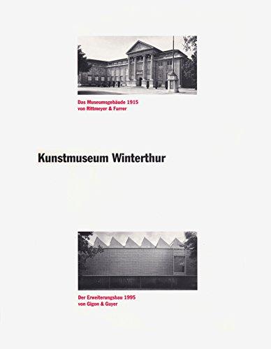 Kunstmuseum Winterthur : das Museumsgebäude 1915 von: Schwarz, Dieter: