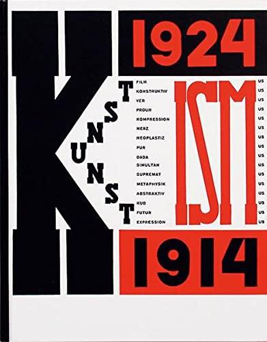 9783906700281: Die Kunstismen: 1914-1924