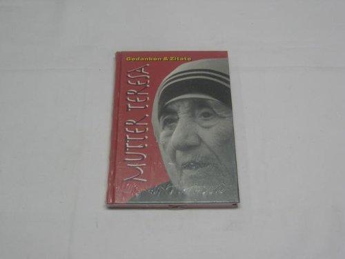 9783906715063: Mutter Teresa