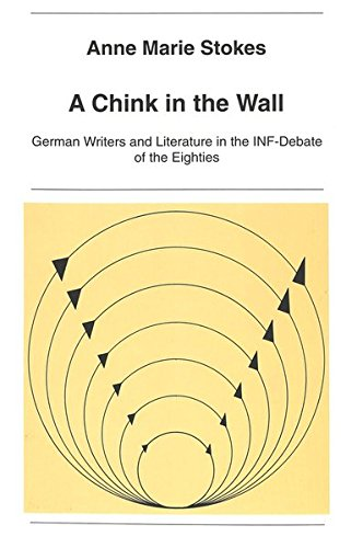 9783906753584: A Chink in the Wall: German Writers and Literature in the INF-Debate of the Eighties (New York University Ottendorfer Series)