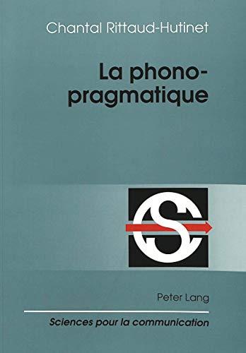 9783906754253: La phonopragmatique
