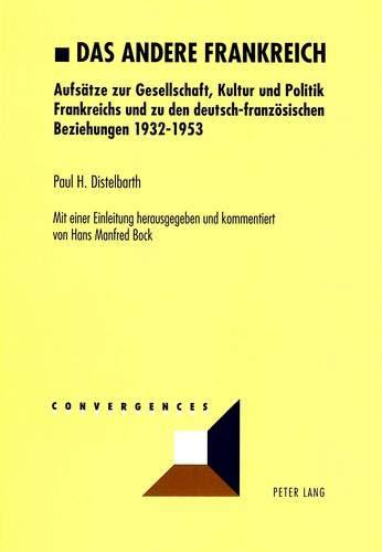 Das andere Frankreich: Paul H. Distelbarth