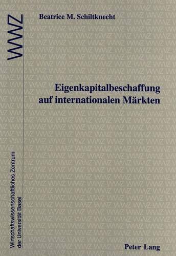 Eigenkapitalbeschaffung auf internationalen Märkten In Zusammenarbeit mit dem ...