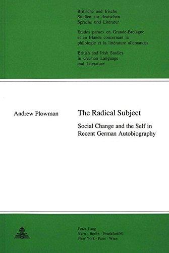 The Radical Subject: Plowman, Andrew
