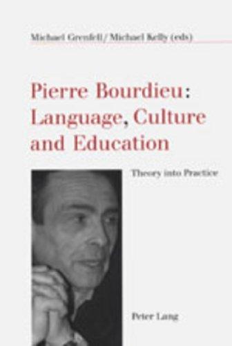 9783906763026: Pierre Bourdieu: Language, Culture and Education