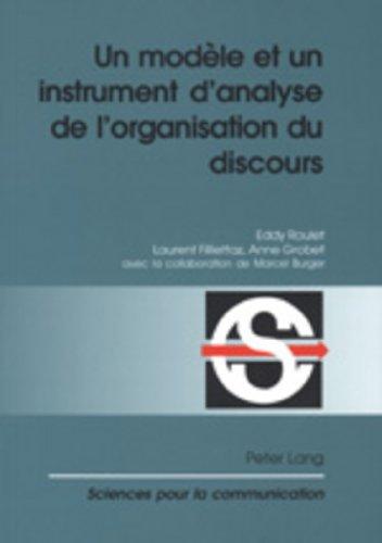 Un modèle et un instrument d'analyse de