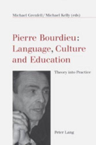 9783906766324: Pierre Bourdieu: Language, Culture and Education