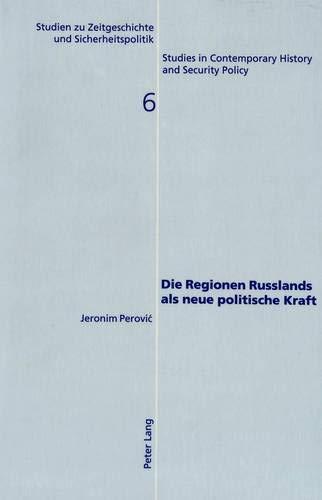 Die Regionen Russlands als neue politische Kraft Chancen und Gefahren des Regionalismus für ...
