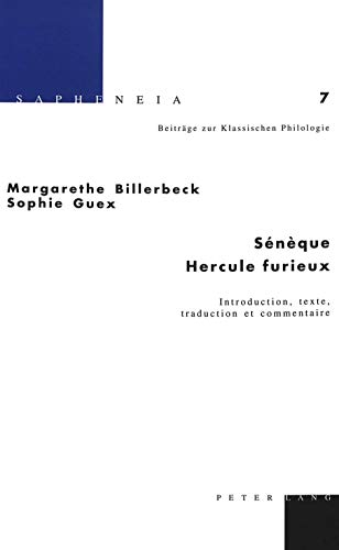"Sénèque ""Hercule furieux"""" Introduction, texte, traduction et: ..."