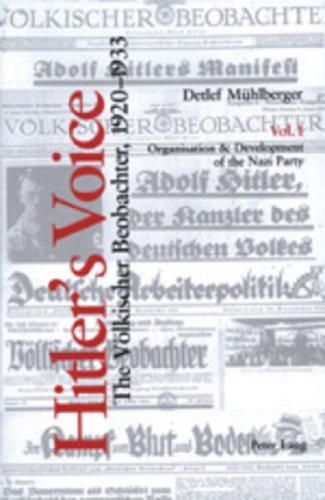 9783906769721: Hitler's Voice (v. 1 & v. 2)
